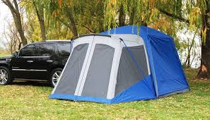 Sportz Blue/Grey SUV Tent for c&ing with Screen Room & Best SUV Tent Reviews u0026 Buyers Guide - BetterExploring.com